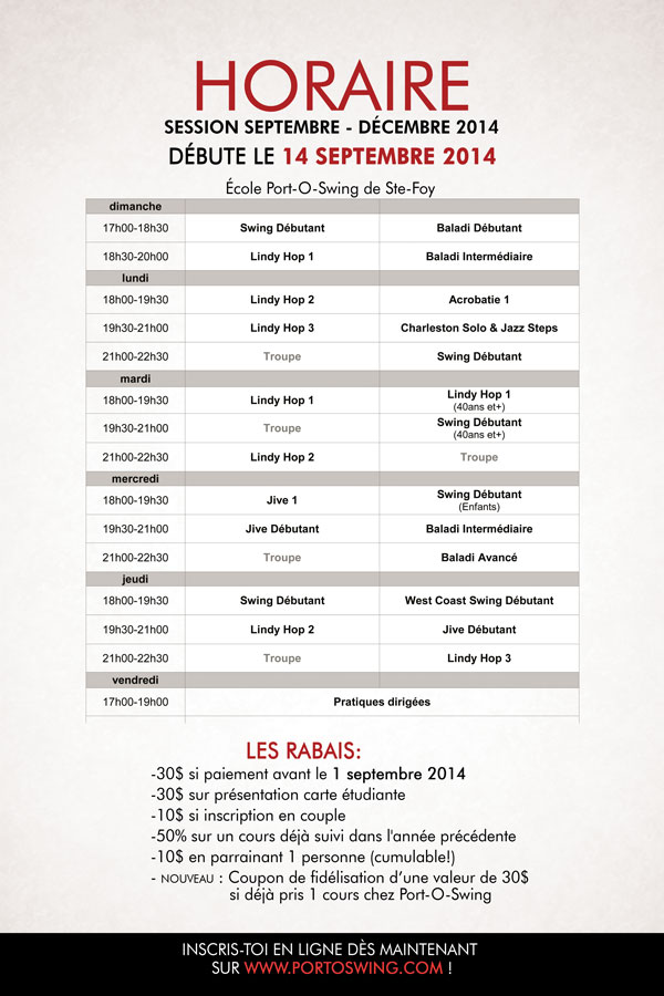 portoswing_session-2014sept-dec_horaire-ste-foy_web